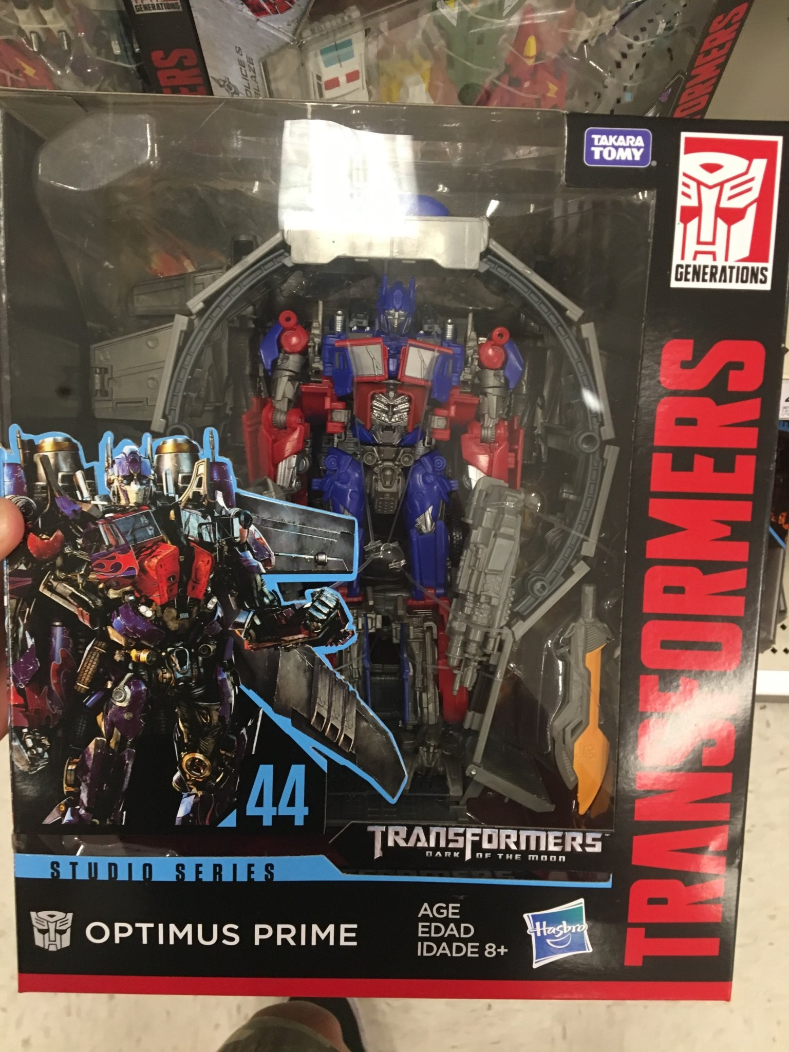 Transformers News: Studio Series Wave Leader Jetwing Optimus Prime Found at US Retail
