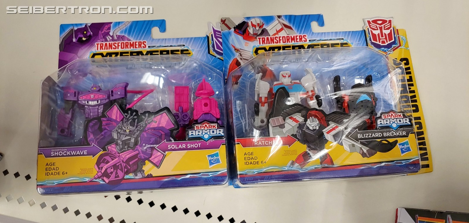 Transformers News: Spark Armor Shockwave and Ratchet Found at US Retail