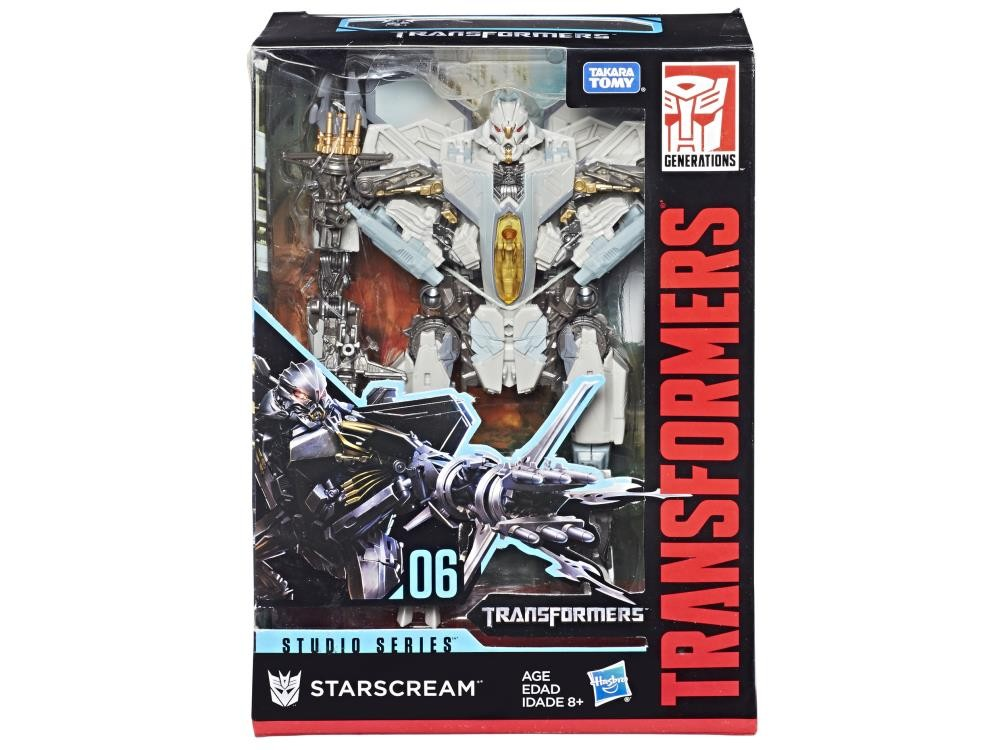 Transformers News: Almost Half Off Studio Series Voyager 05 Optimus Prime and 06 Starscream, 13 Megatron at BBTS