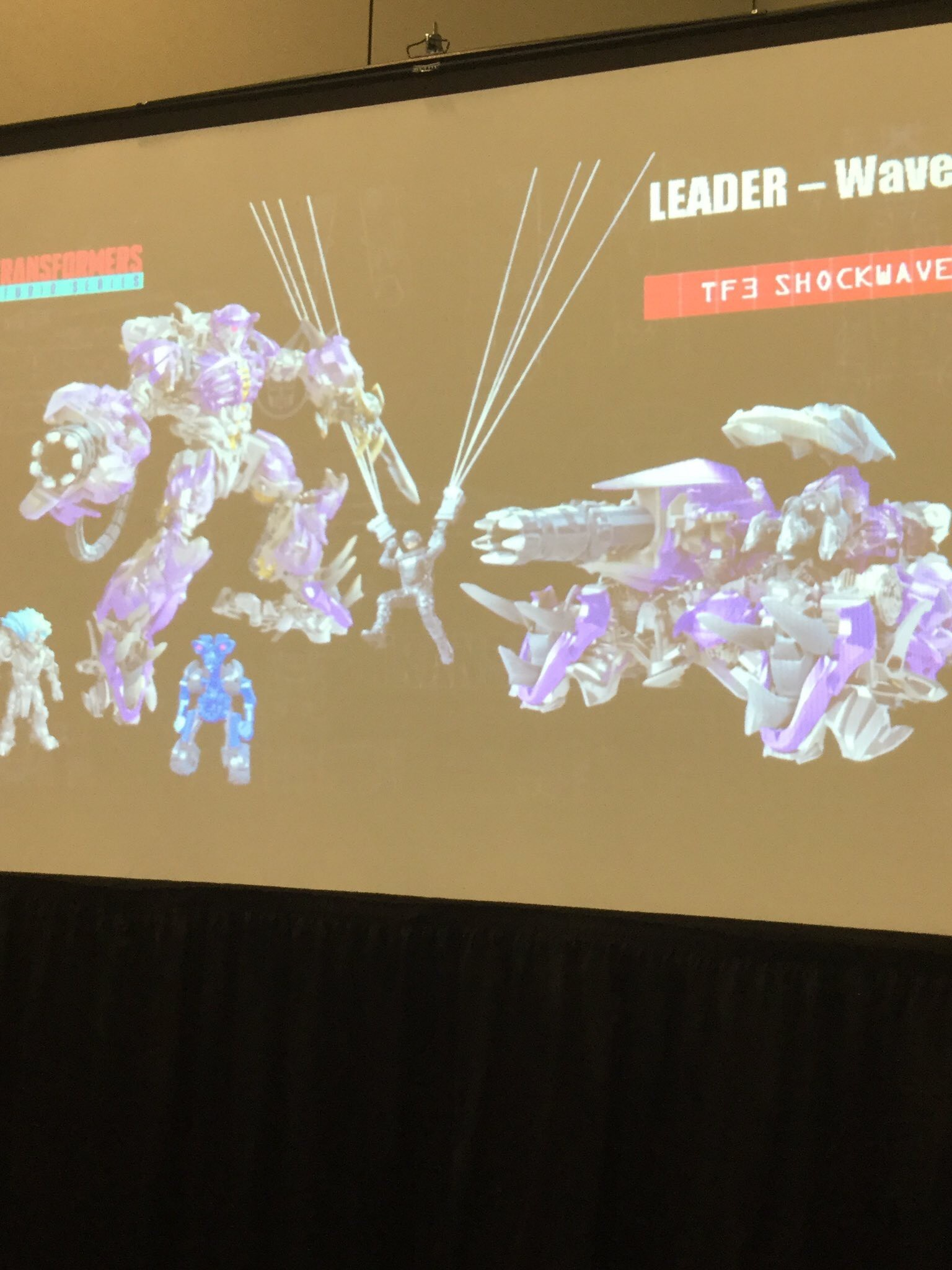 Transformers News: New Reveals from FanExpo Studio Series Shockwave, Scavenger, Mixmaster, Voyager 2007 Movie Megatron