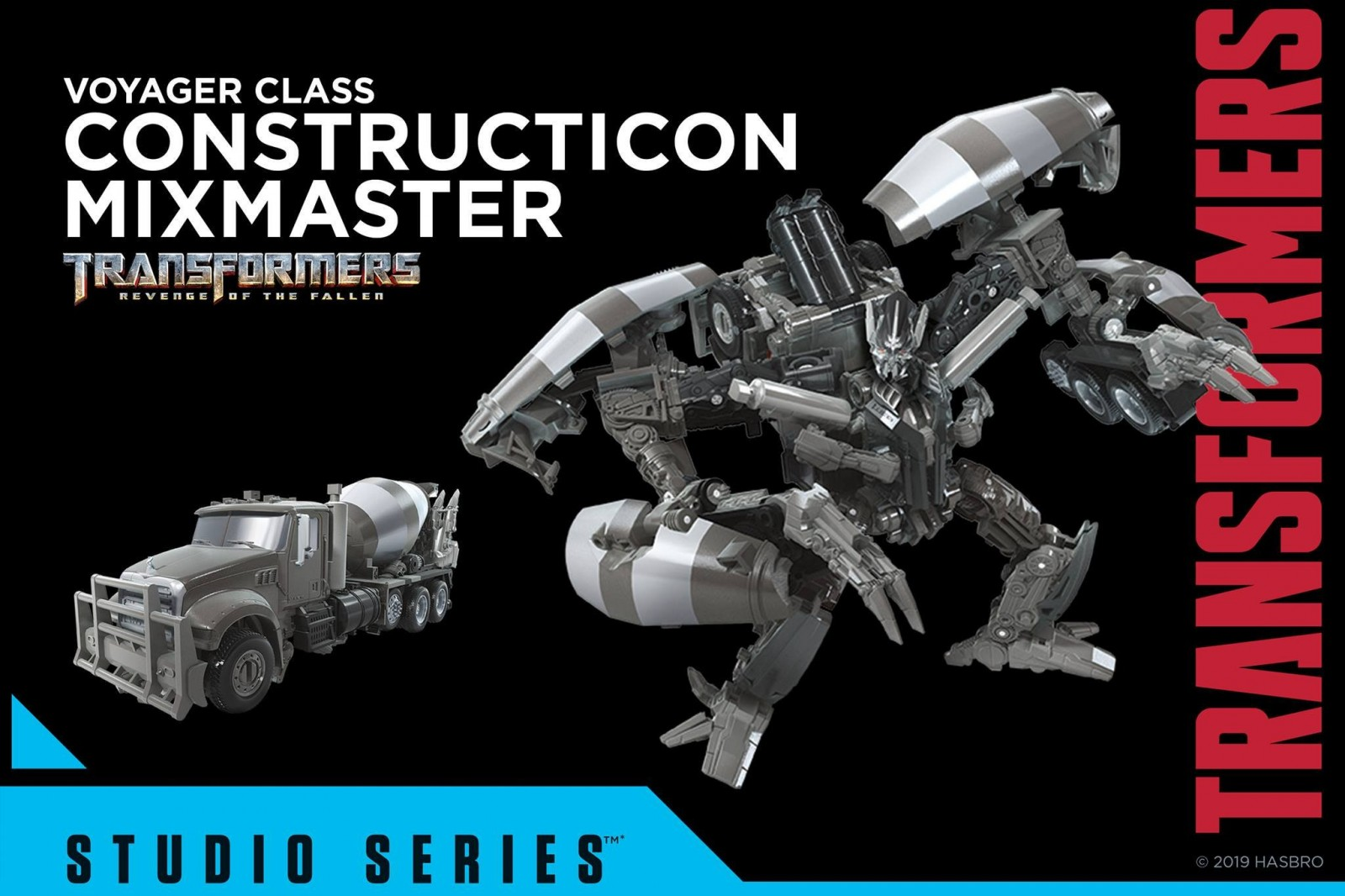 Transformers News: Official Images of Transformers Studio Series Shockwave, Scavenger, 2007 Megatron, and Mixmaster