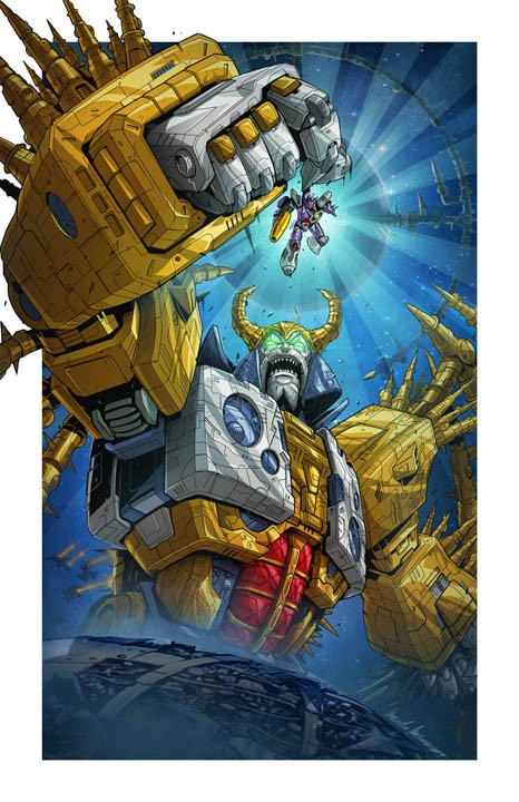 Transformers News: Unicron will Come with Tiny Galvatron and Interchangeable Chin
