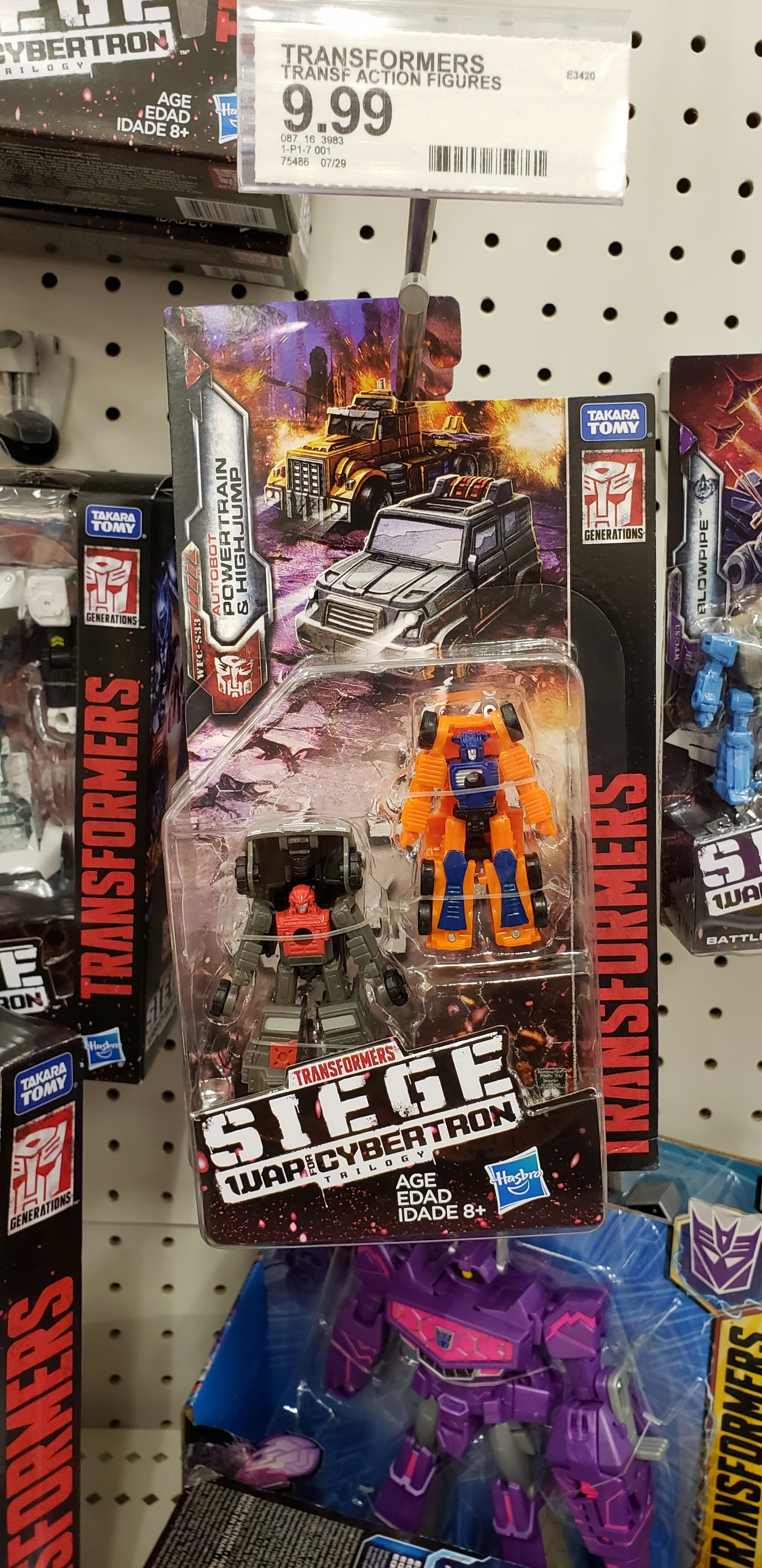 Transformers News: Transformers War for Cybertron Off Road Patrol Sighted at US Retail and Up On Amazon