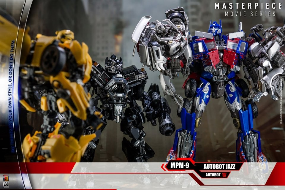 Transformers News: Amazing In Hand Images of Transformers Masterpiece MPM-9 Jazz