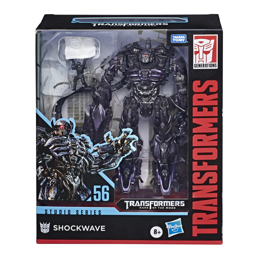 Transformers News: New Stock Images of Studio Series Leaders Shockwave and Scavenger