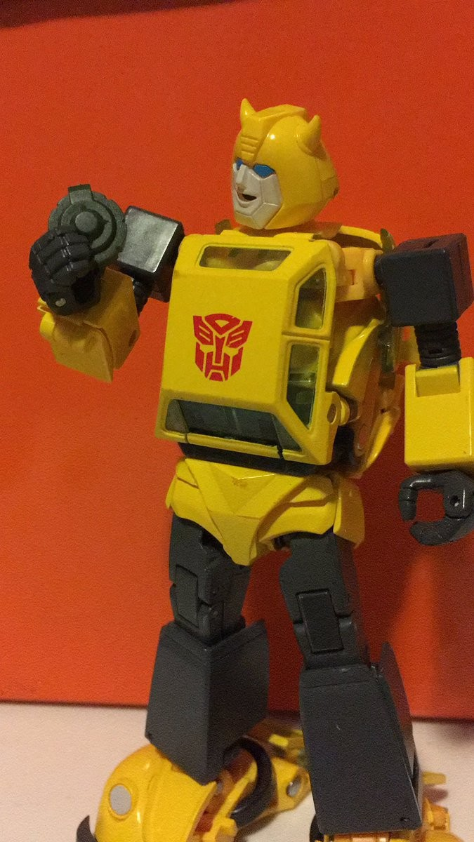 Transformers News: Masterpiece MP-45 Bumblebee Stock and In Hand Images
