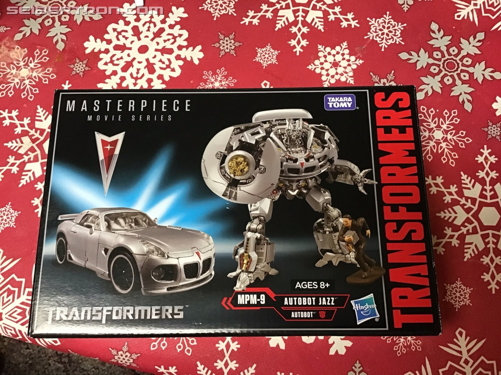 Transformers News: Pictorial Review for Movie Masterpiece MPM-9 Jazz