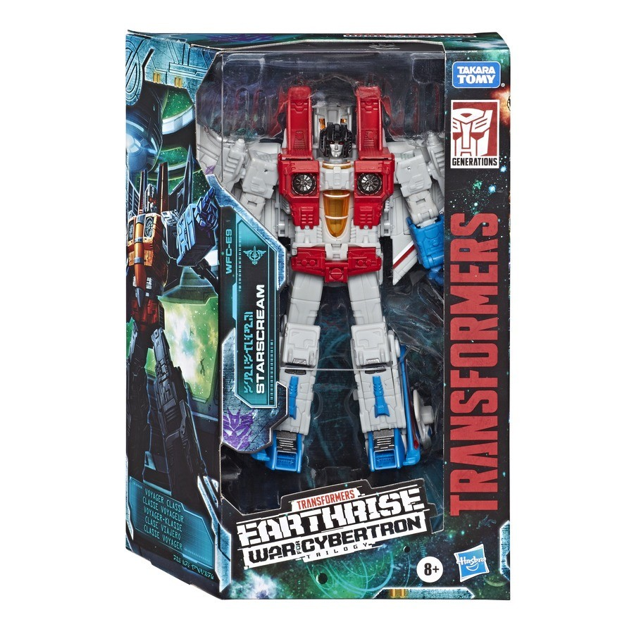 Transformers News: Transformers Generations War for Cybertron Trilogy Earthrise Packaging for Starscream and Grapple