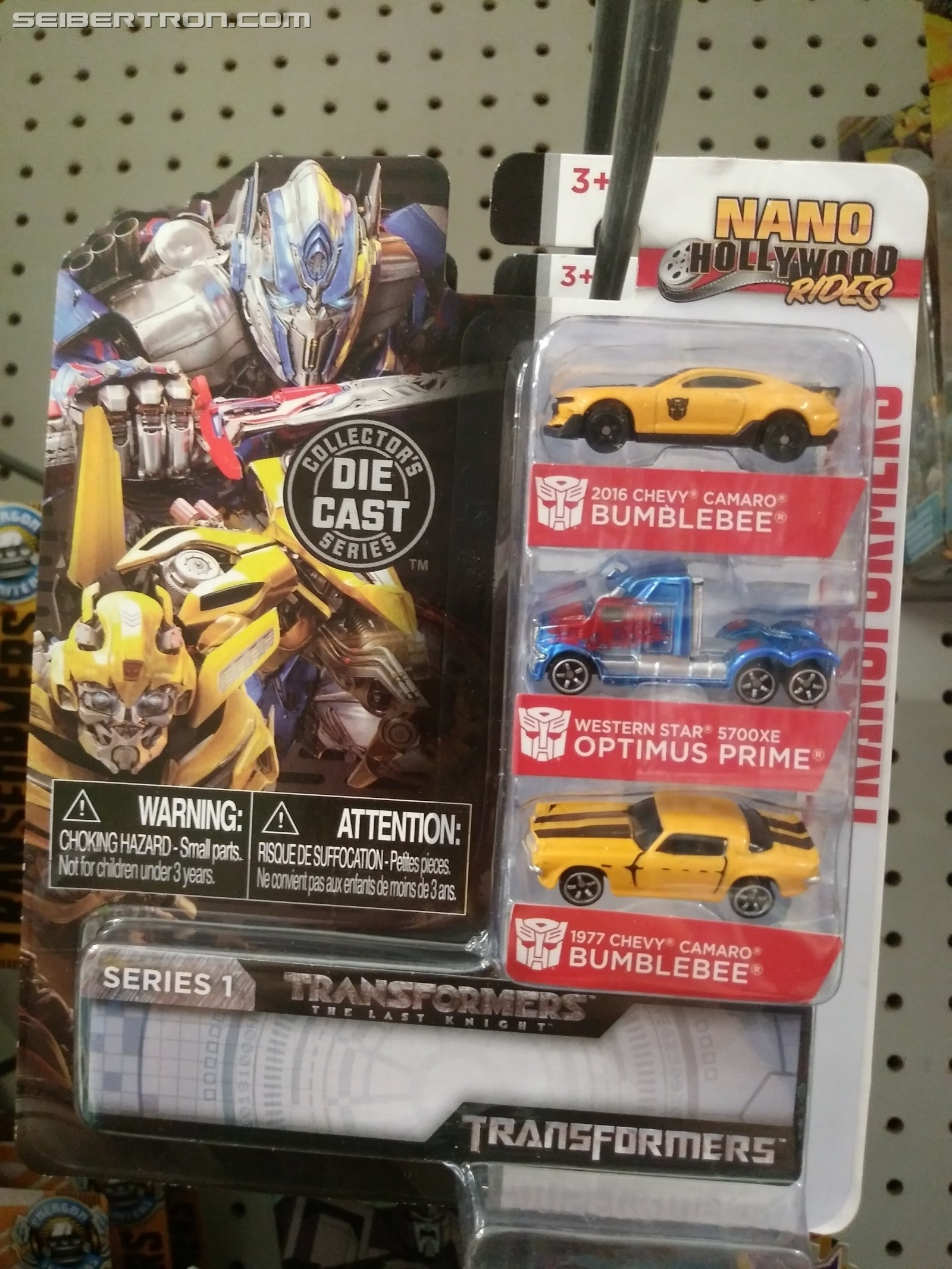 Transformers News: Series 1 of Transformers Nano Hollywood Rides Released in Canada