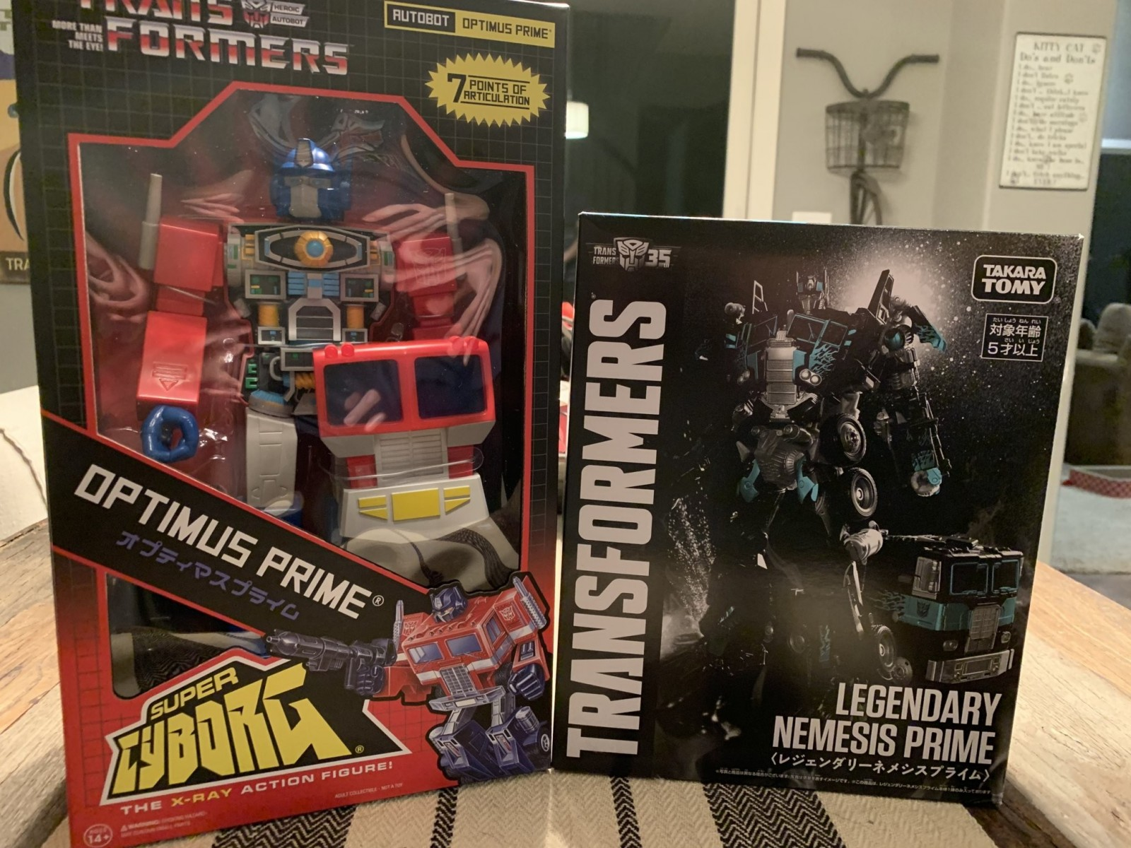 Transformers News: Images of Box for Takara 7-Eleven Exclusive Legendary Nemesis Prime Who is Also Out Now