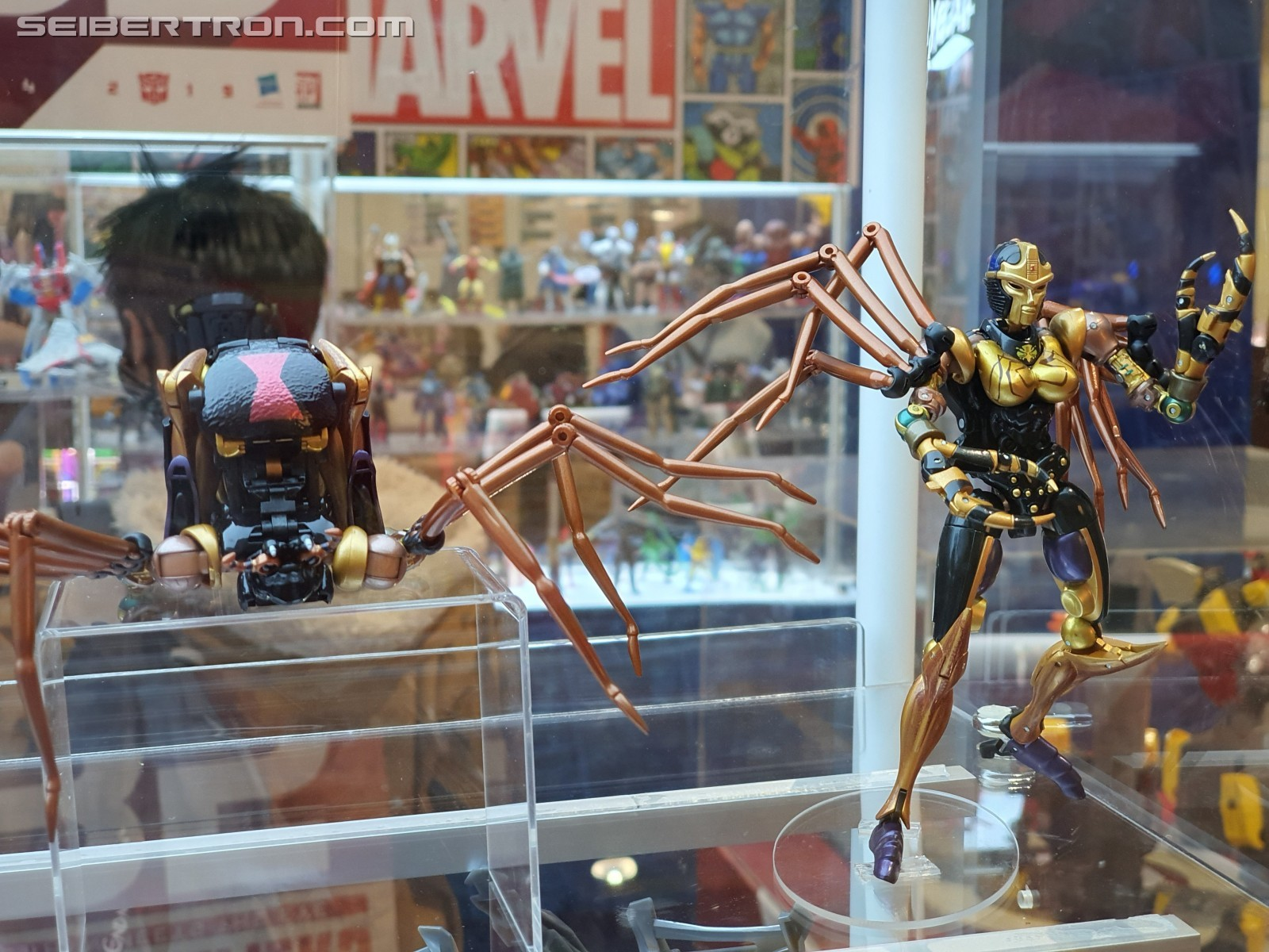 Transformers News: More Images of MP-46 Blackarachnia Showing the Spider Correctly Transformed at Multiple Angles