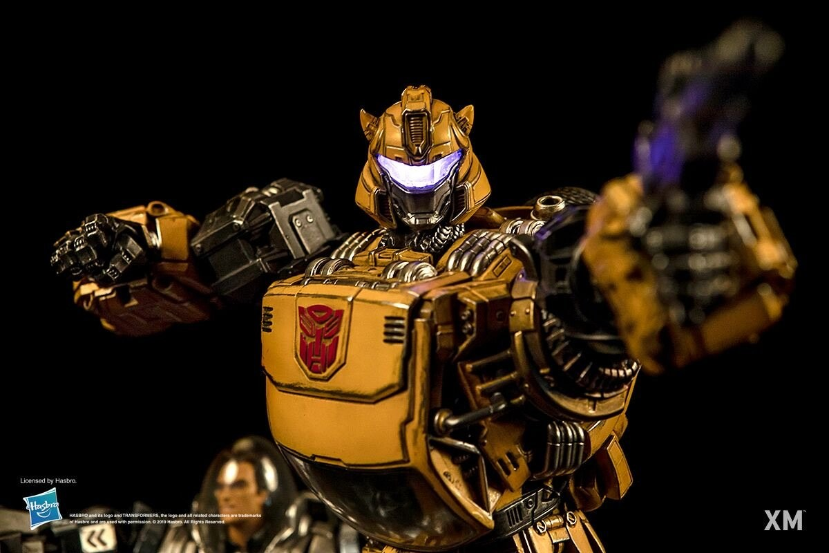 Transformers News: XM Studios Reveals Most Badass Statue of Bumblebee and Spike
