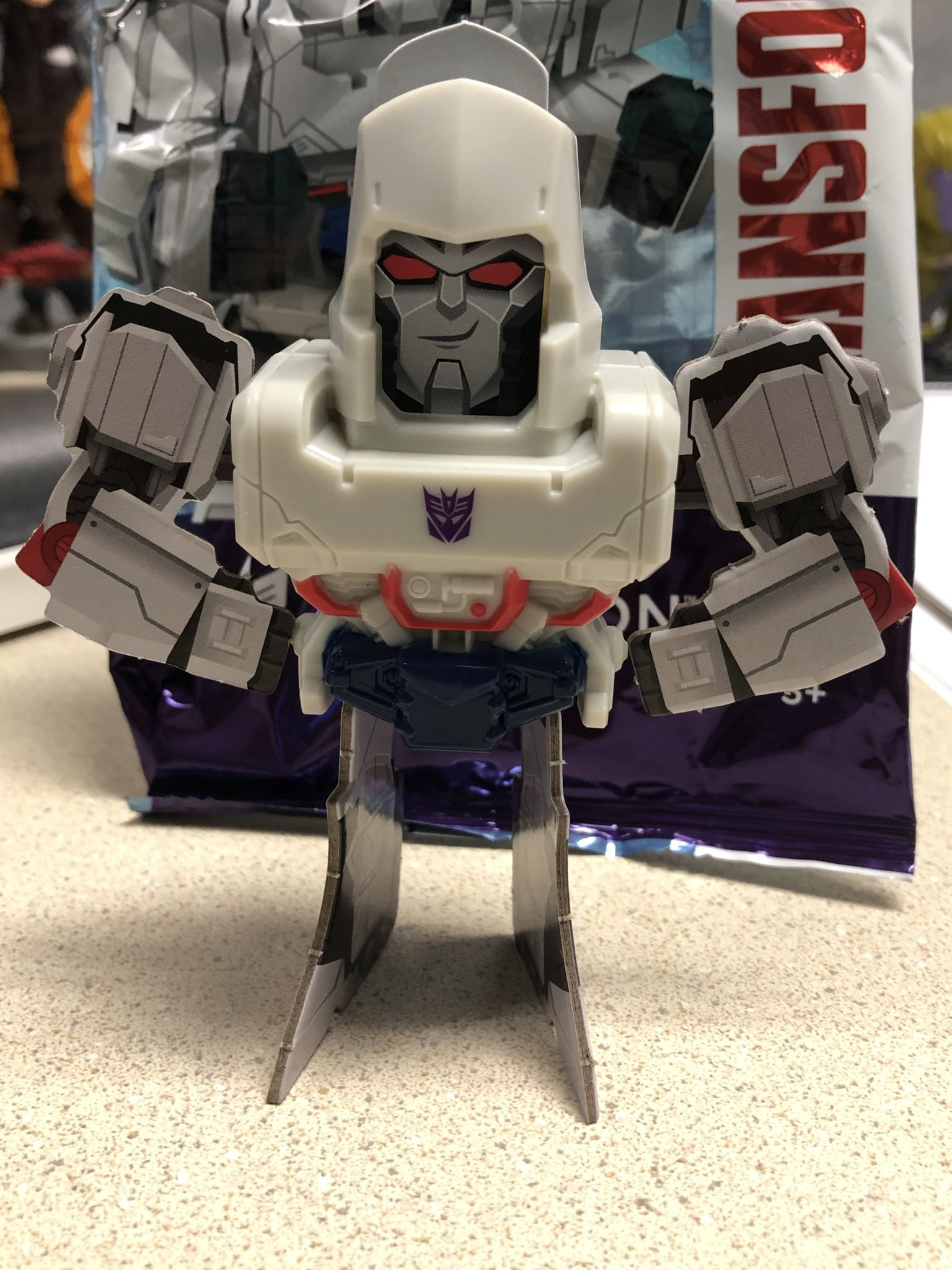 Transformers News: Wendy's has New Kids Meal Toys Featuring Transformers and Cardboard