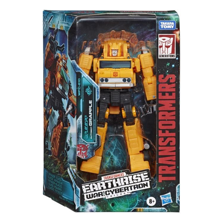Transformers News: New Stock Images of Earthrise Grapple, Starscream and Hoist including Packaging