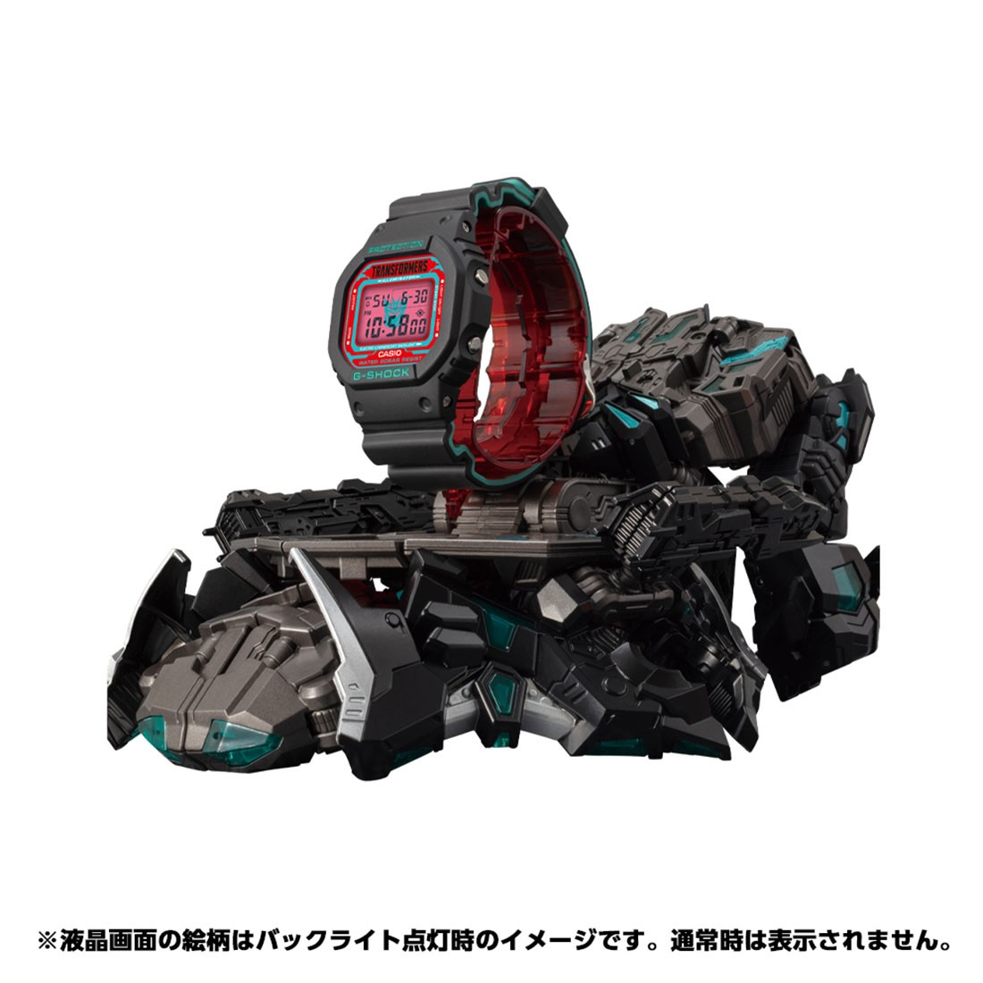 Transformers News: G-Shock x Transformers Master Nemesis Optimus Prime Revealed