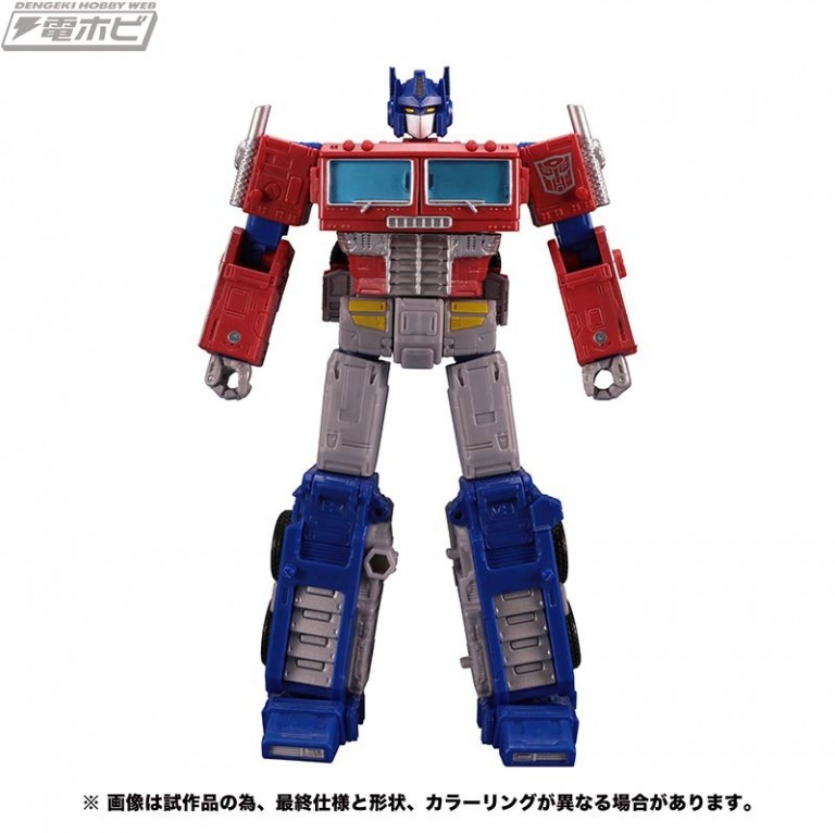 Transformers News: Review of Earthrise Optimus Prime Shows Blue Hands