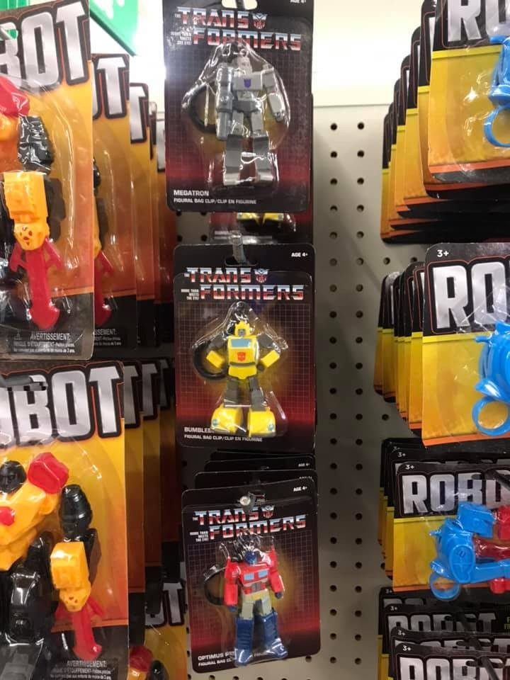 Transformers News: G1 Transformers Styled Keychains Found at Dollar Tree