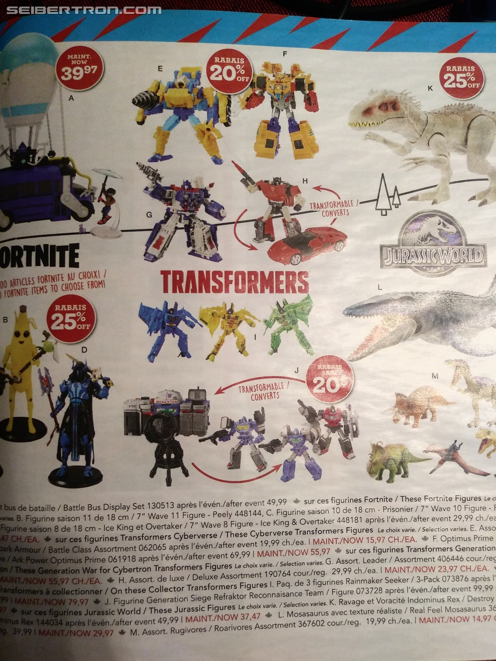 Transformers News: Toysrus Canada Filled to the Brim for the Holiday Season and Sales on Transformers Exclusives
