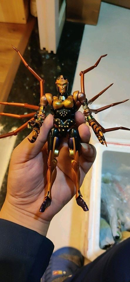 Transformers News: Re: More Images of MP-46 Blackarachnia Showing the Spider Correctly Transformed at Multiple Angles