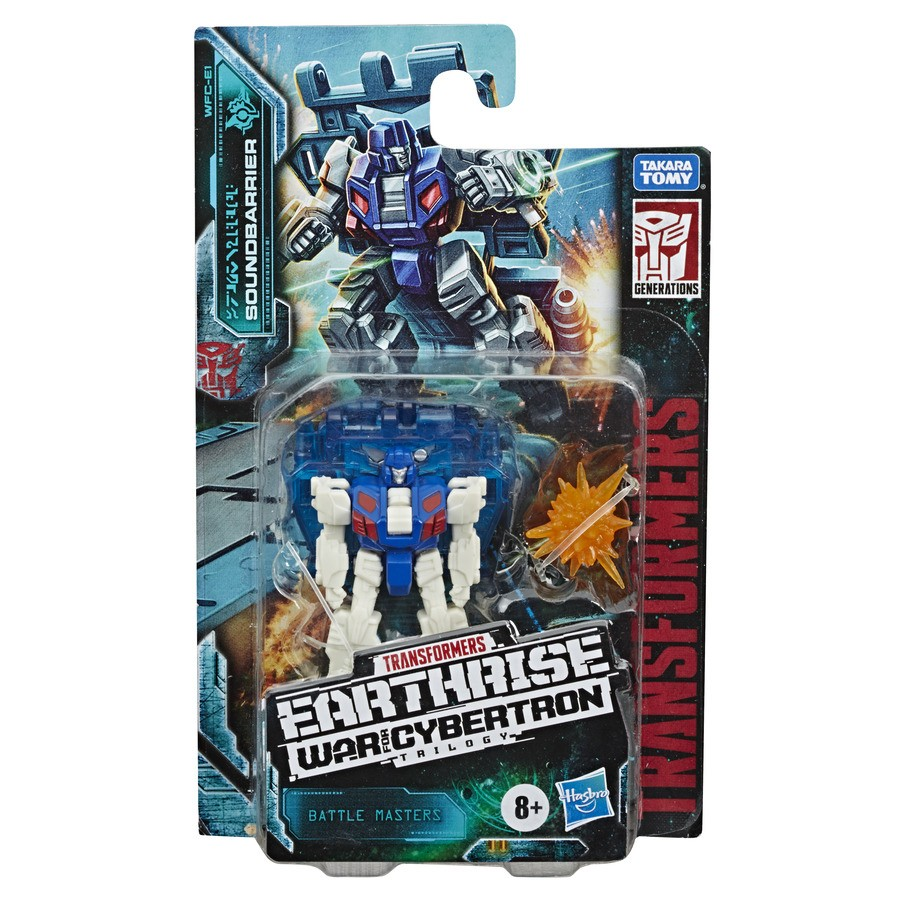 Transformers News: Stock Images of Earthrise Trip-Up, Daddy-O, Bombshock, Growl and Soundbarrier