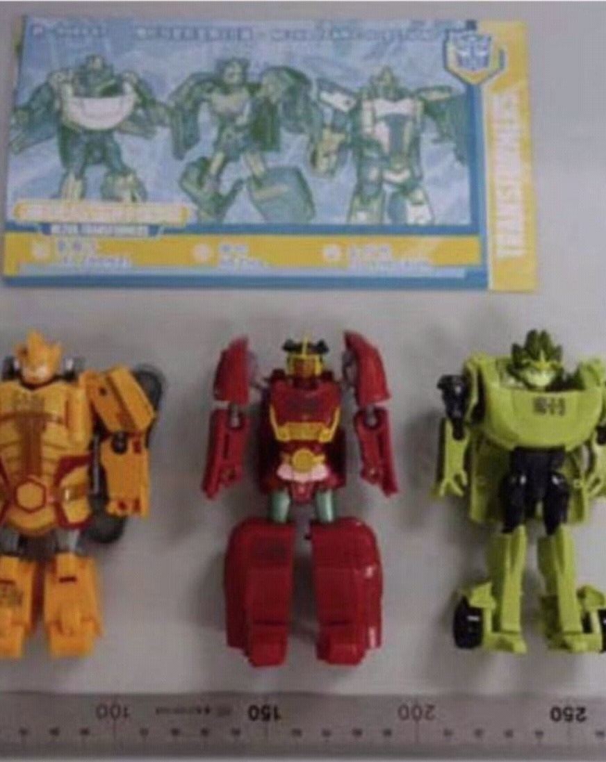 Transformers News: First Look at New Chinese Exclusive Transformers X Nezha Toys