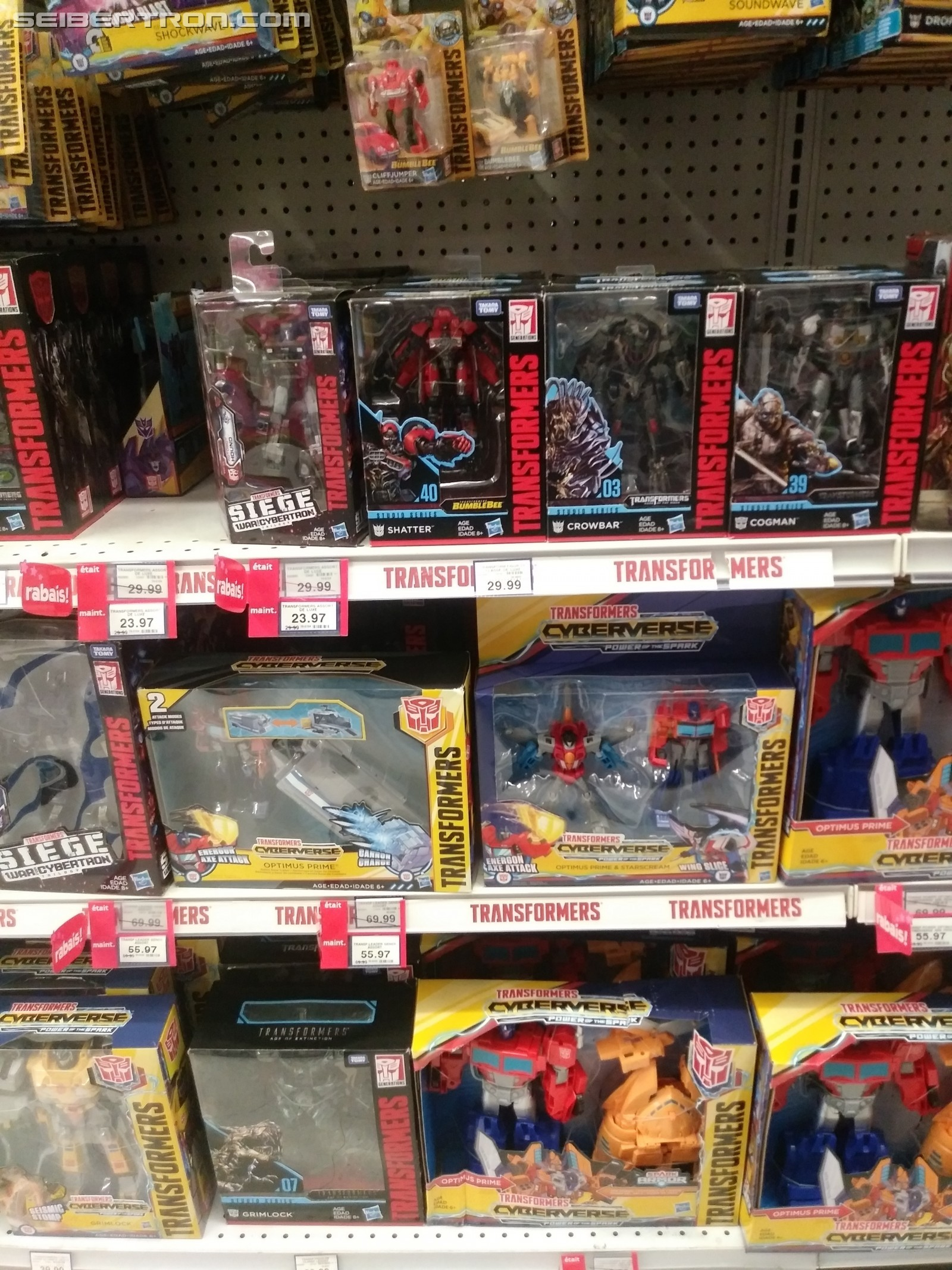 Transformers News: New Canadian Sightings and Deals