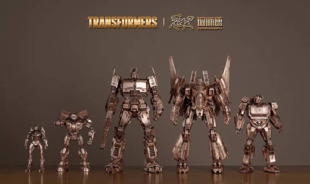 Transformers News: New Transformers Licensed Copper Statues from Tongshifu Including Optimus Prime, Bumblebee, Arcee