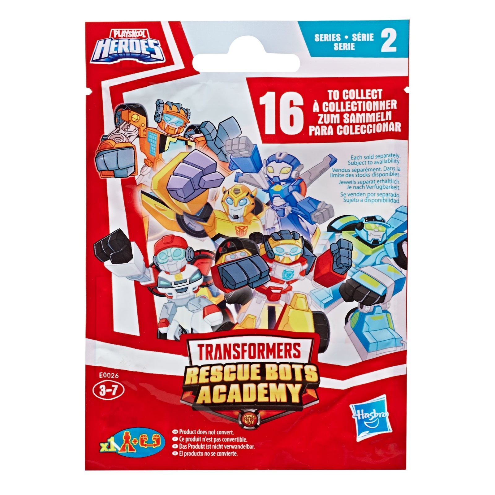 Transformers News: Transformers Rescue Bots Academy Mini Figures Wave 2 Revealed