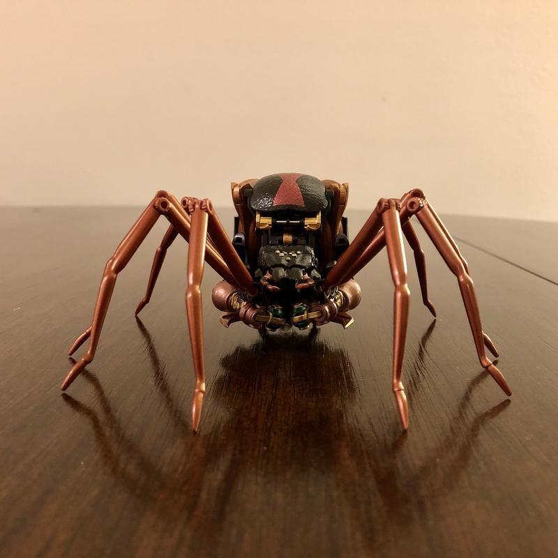 Transformers News: Masterpiece MP-46 Blackarachnia News Roundup