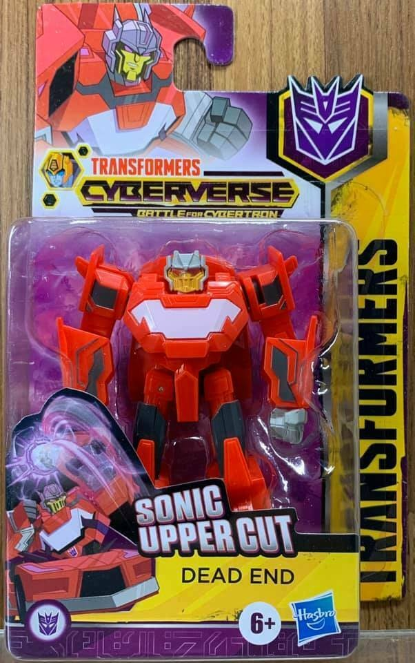 Transformers News: In Package Look At New Transformers Cyberverse Products For 2020