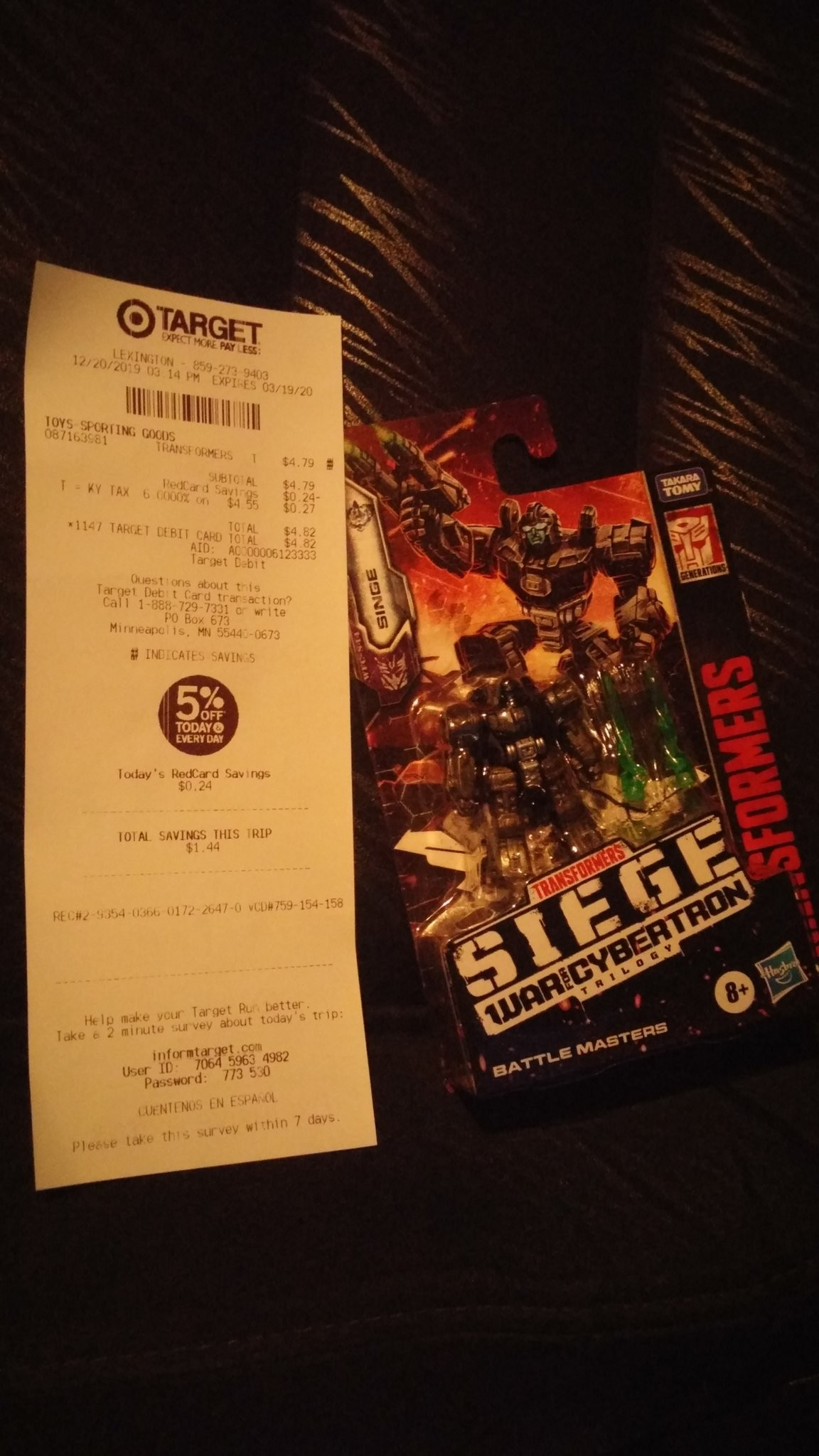 Transformers News: Battle Masters Rung and Singe found at Target in US