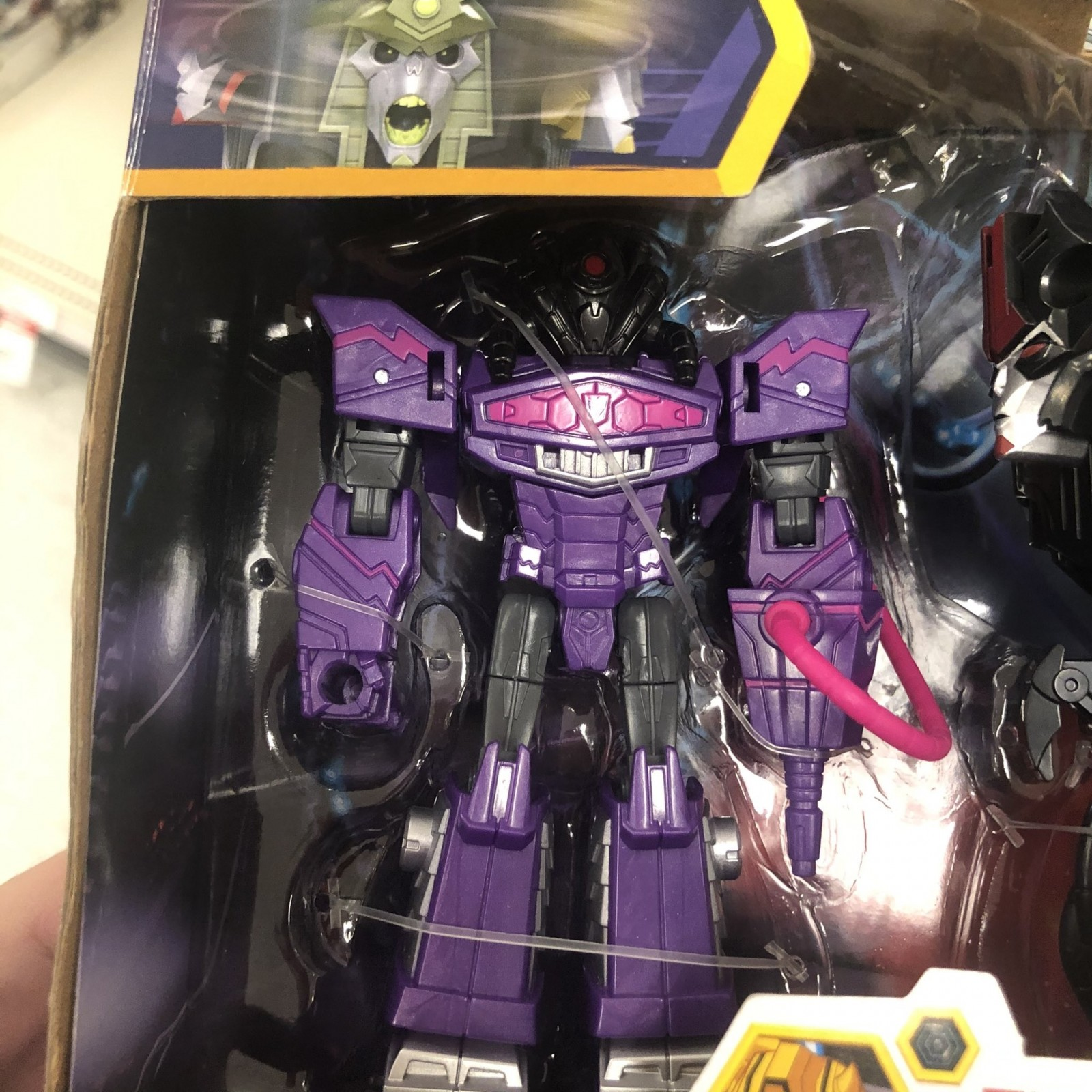 Transformers News: Transformers: Cyberverse Quintesson 3-Pack Found at Retail
