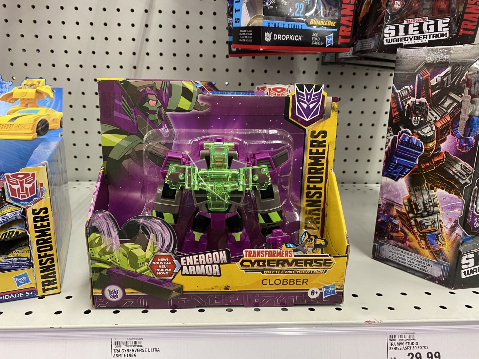 Transformers News: New Transformers Sightings in US with 2020 Deluxes, Ultra Class and Warrior Figures