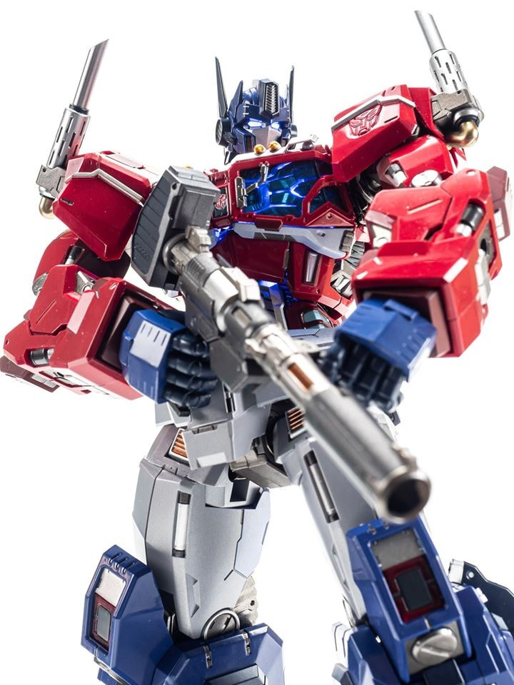 Transformers News: Flame Toys is Giving us the Coolest Looking Non Transforming Optimus Prime Figure Ever