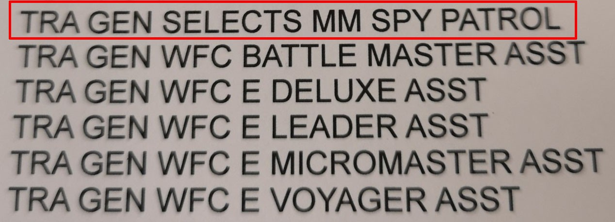 Transformers News: Transformers Generations Selects Micromaster Pack Listing Found