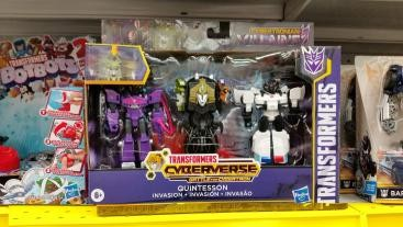 Transformers News: Canadian Sighting News with G1 Astrotrain, Cyberverse Multi packs and Walmart Siege Reset