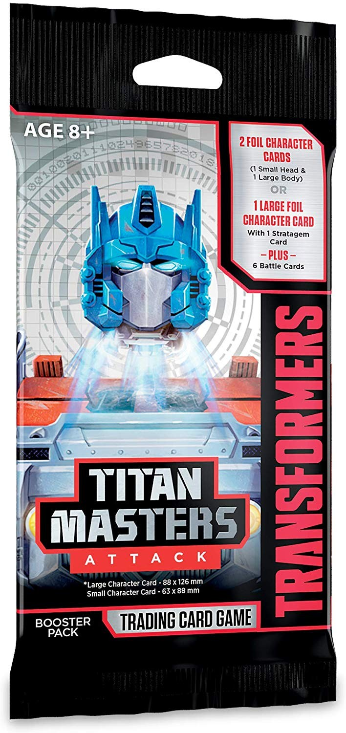 Transformers News: New Titan Masters Attack Expansion Revealed For The Official Transformers Trading Card Game