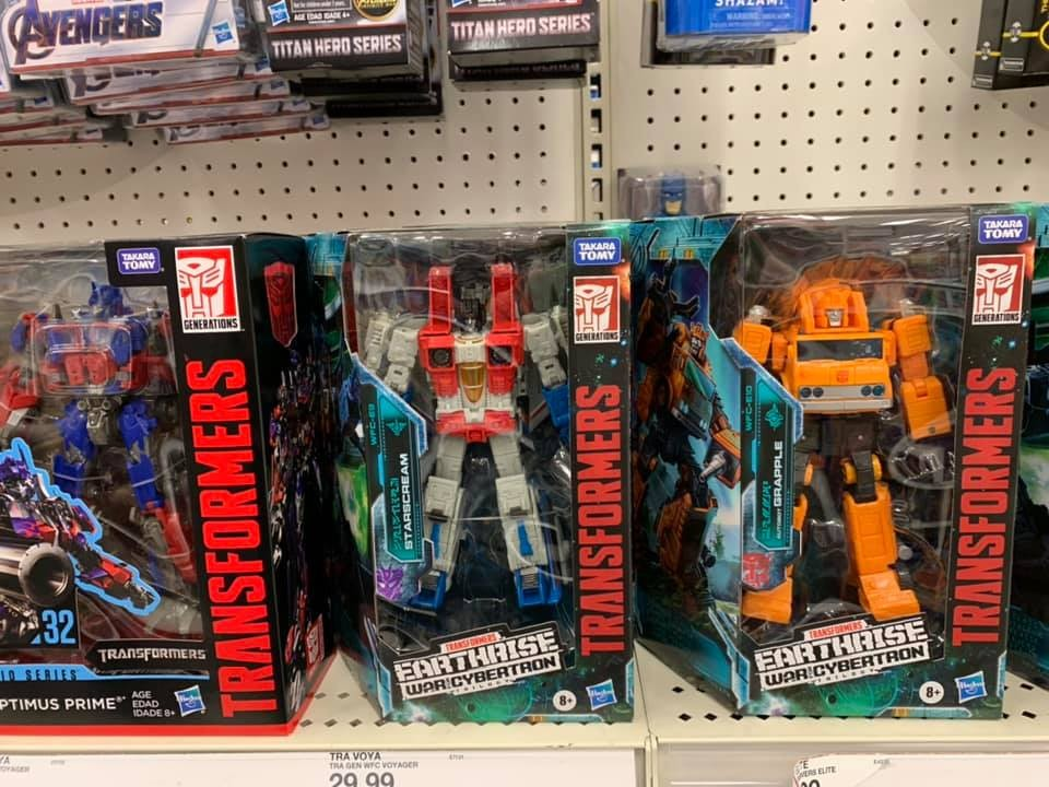 Transformers News: Transformers Earthrise Wave 1 Voyagers found at US Retail