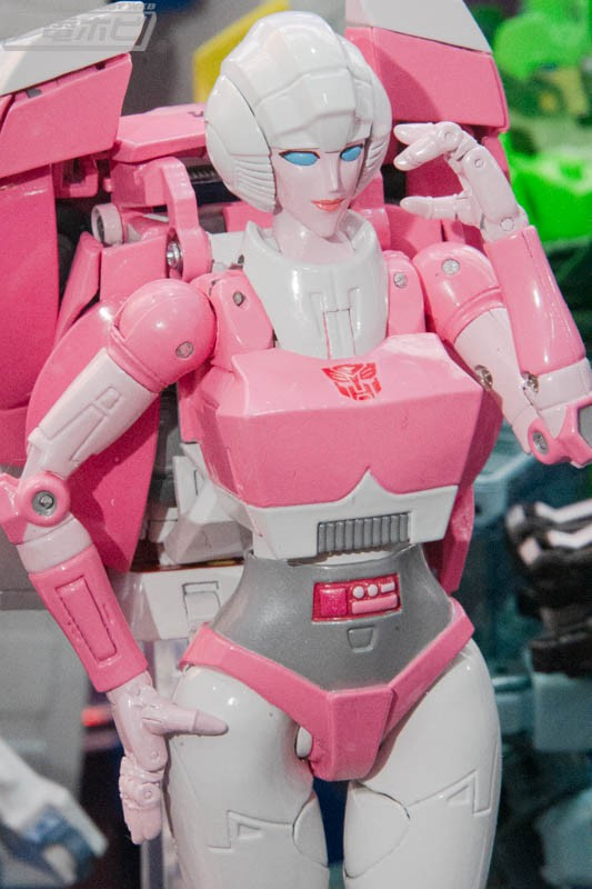 Transformers News: Transformers MP-51 Arcee Images from Wonder Festival 2020 and $145 Price Revealed