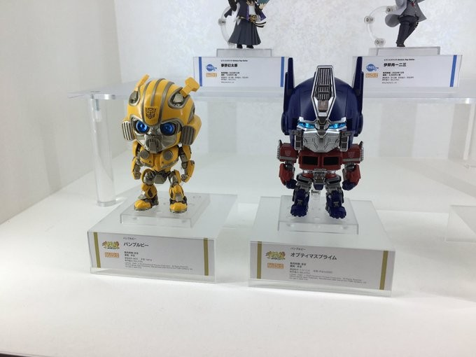 Transformers News: Bumblebee Movie Optimus Prime and Bumblebee Nendoroids shown at Wonder Festival 2020