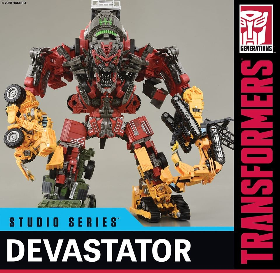 Transformers News: First Look At Transformers Studio Series Voyager Class Skipjack As Leg For Devestator