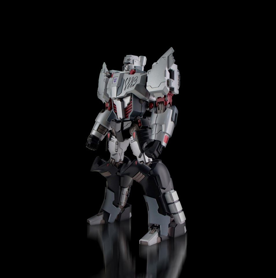 "Transformers News: Flame Toys IDW Megatron ""Decepticon Version"" announced"