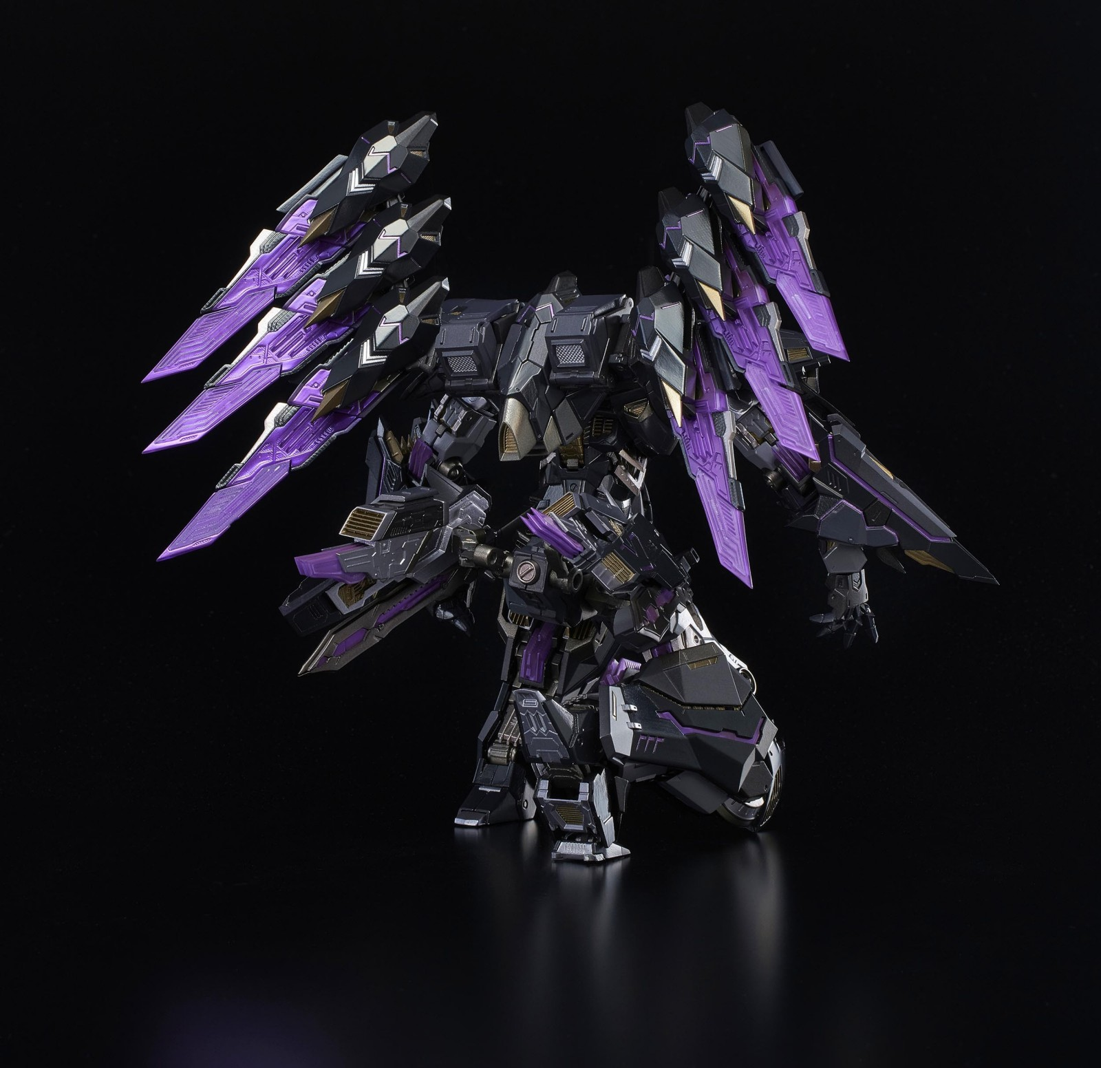 Transformers News: Flame Toys Kuro Kara Kuri IDW Stealth Bomber Megatron Revealed