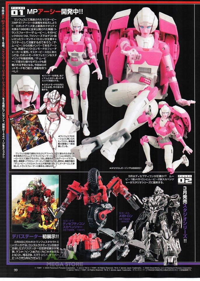 Transformers News: Figure King Magazine #265 Featuring Masterpiece Arcee and Tigatron
