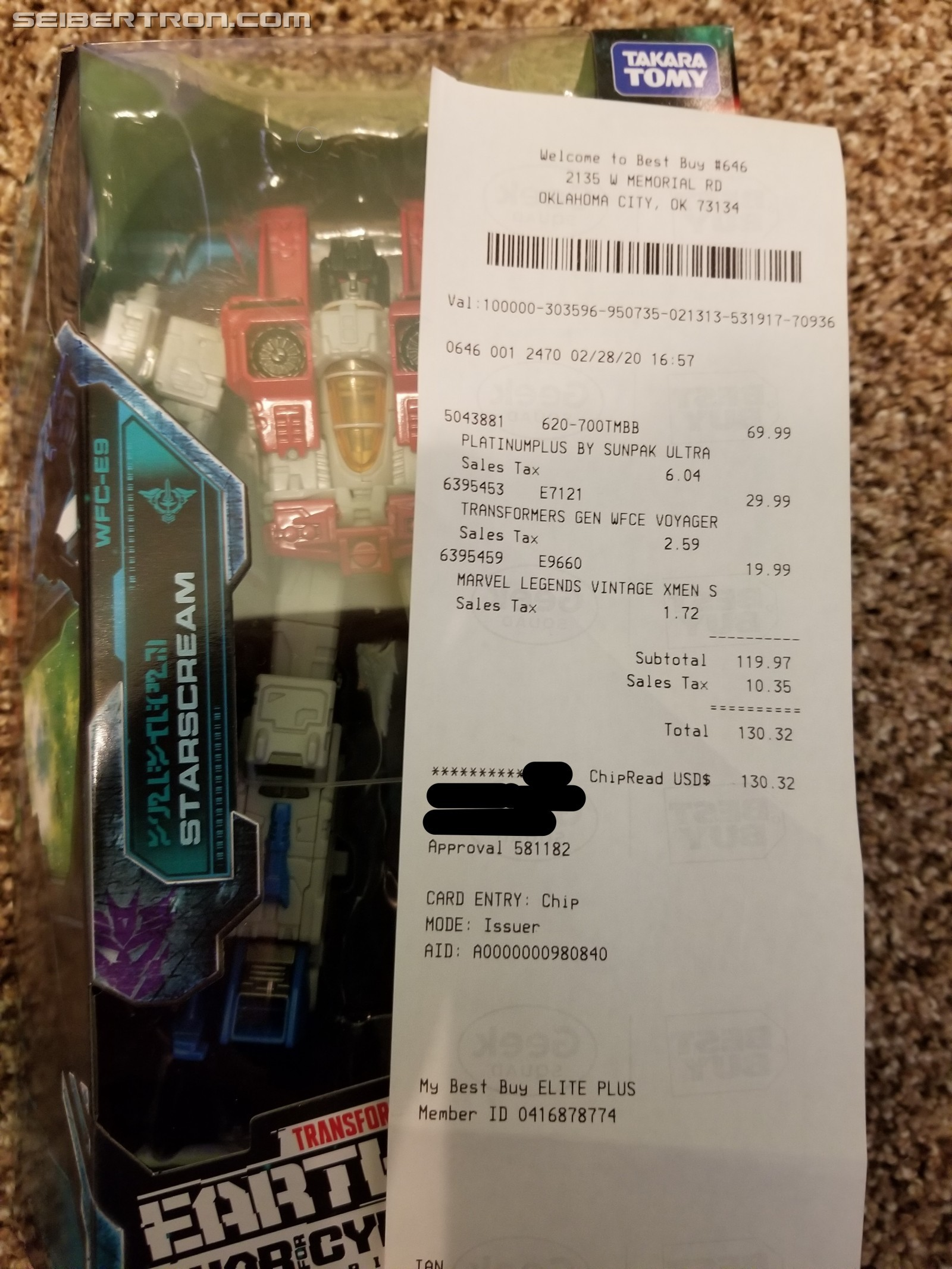 Transformers News: Transformers War for Cybertron: Earthrise sighted at Best Buy