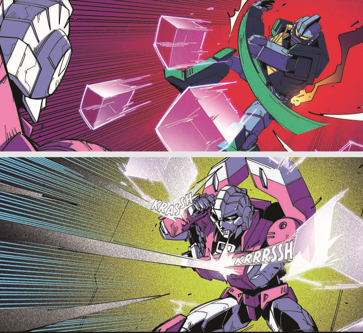 Transformers News: Review of IDW Transformers #18