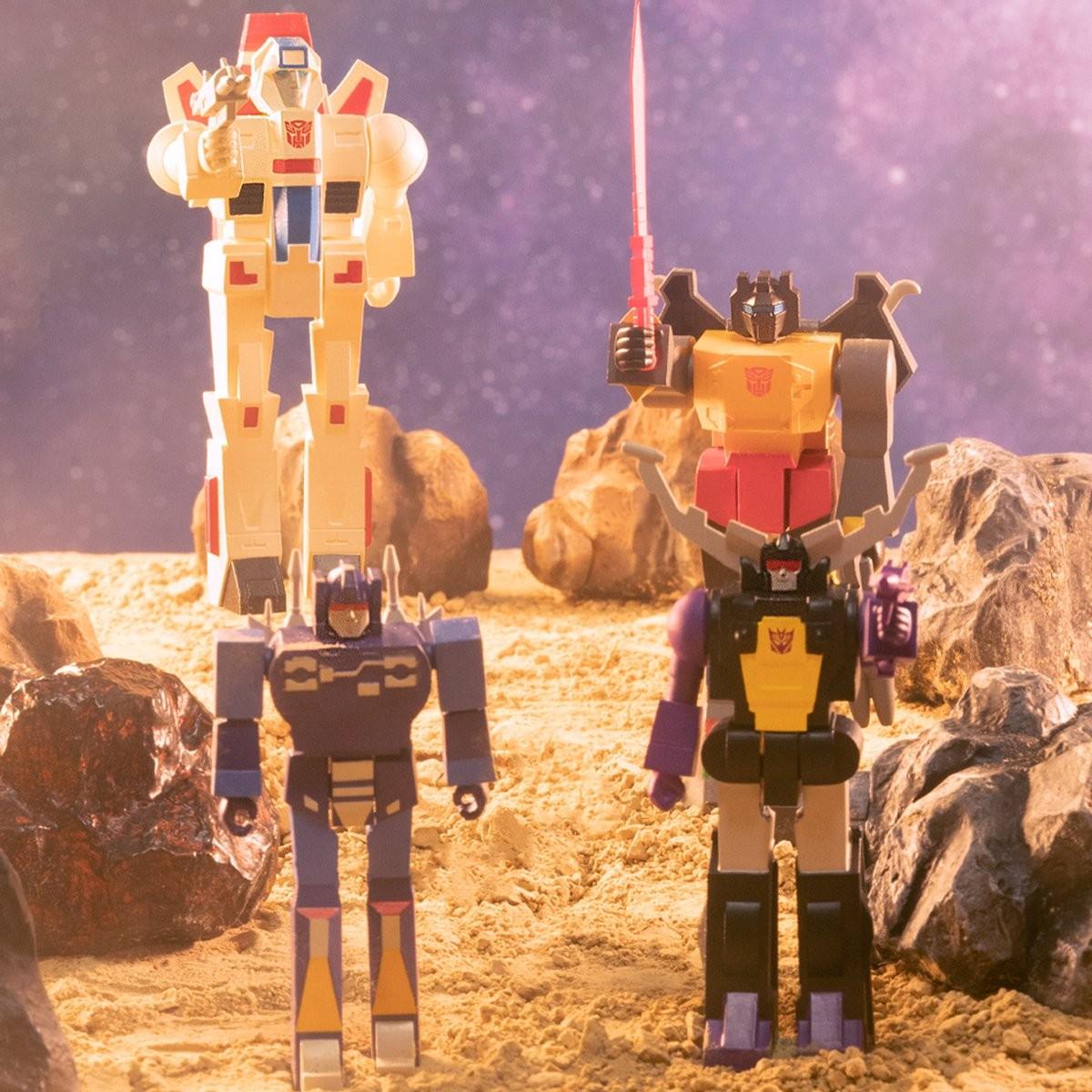Transformers News: New Super7 Transformers ReAction Figures Revealed - Grimlock, Skyfire, Rumble, Shrapnel