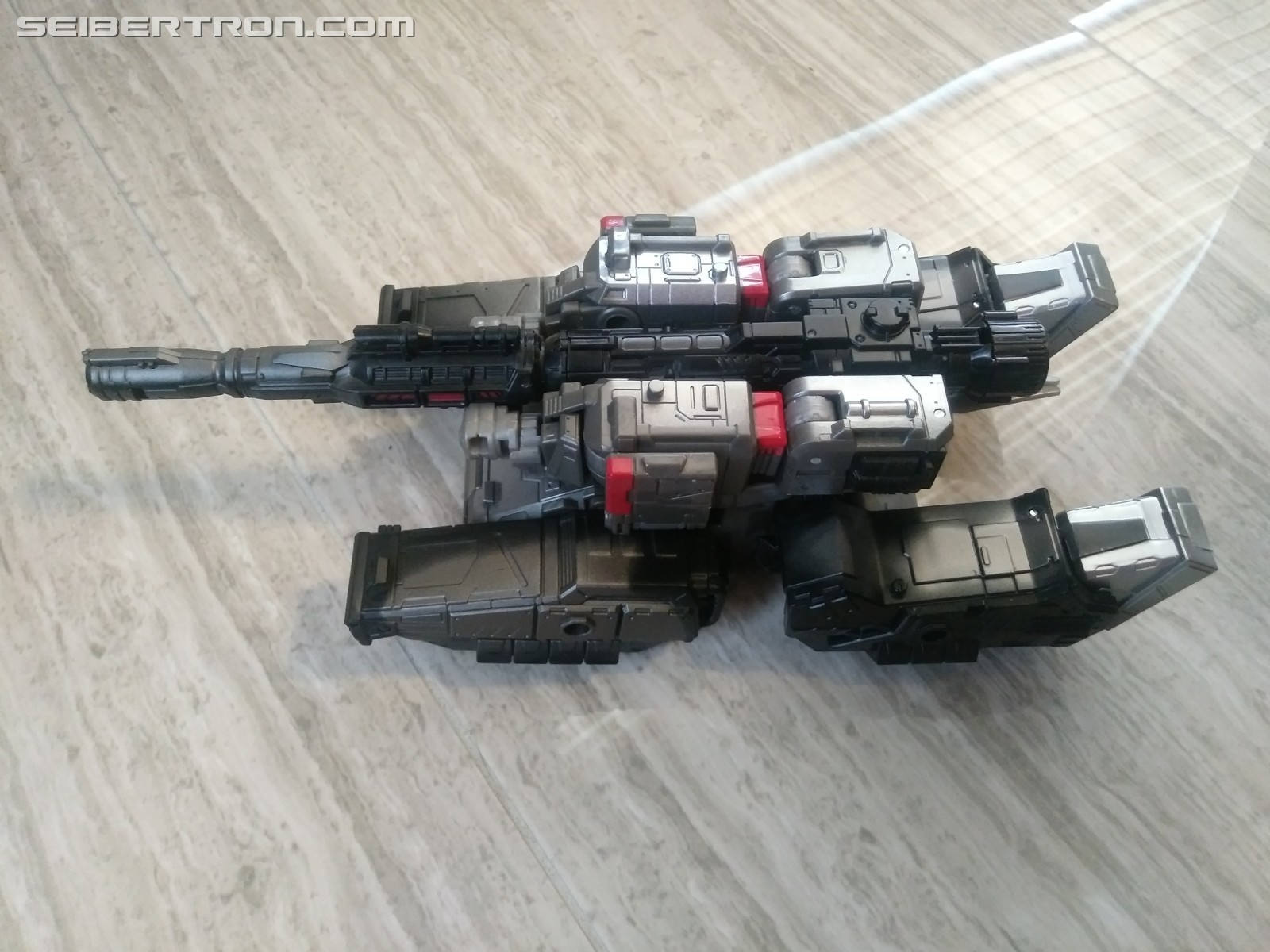 Transformers News: Pictorial Review for Exclusive Transformers Netflix Series Toys Megatron with Lionizer & Pinpointer