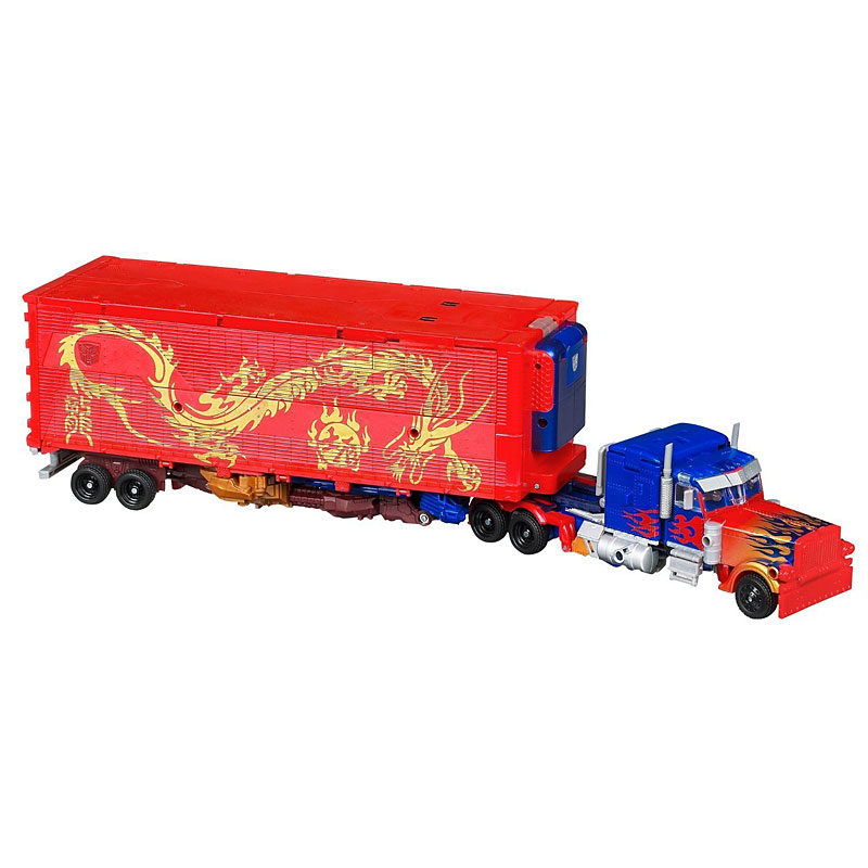 Year of the Dragon Optimus Prime only $49.99 at Amazon.com